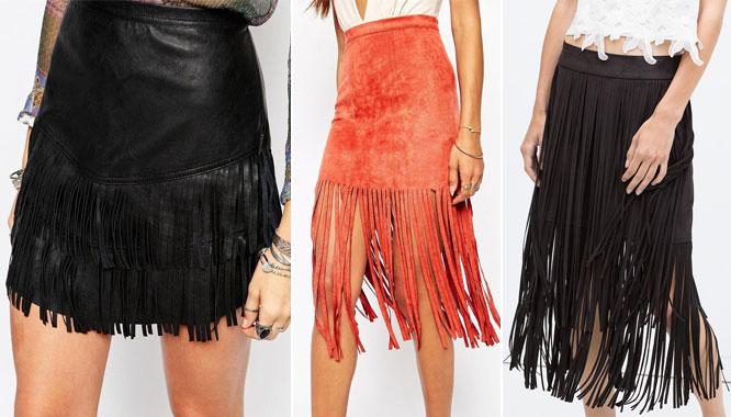 Spódnice z frędzlami – hit tego sezonu – przegląd sieciówek