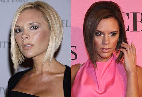 Victoria Beckham - blond czy brąz?