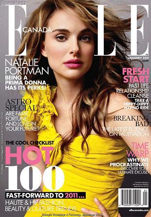 Dwie piękne okładki Natalie Portman