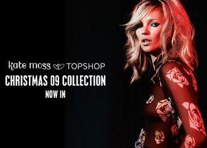 Kate Moss i świąteczna kolekcja dla Topshopu