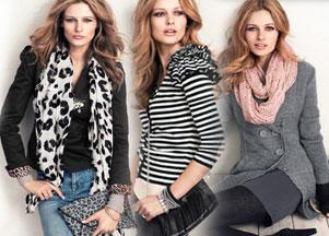 Jesienne stylizacje H&M