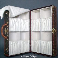Ponadczasowy kufer Louis Vuitton