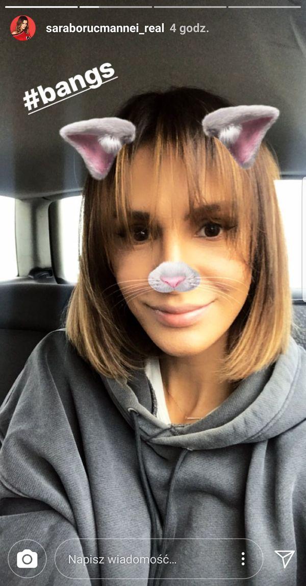 WOW! Sara Boruc ma nową fryzurę. Postawiła na... prostą grzywkę! (FOTO)
