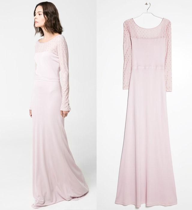 Studniówkowe propozycje od Mango - sukienki maksi