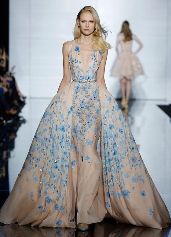Piękna pastelowa kolekcja Haute Couture od Zuhaira Murada