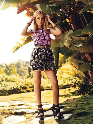 Dziewczęca Dakota Fanning