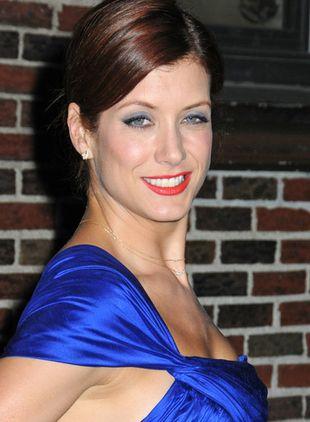 Kate Walsh w chabrowej sukience