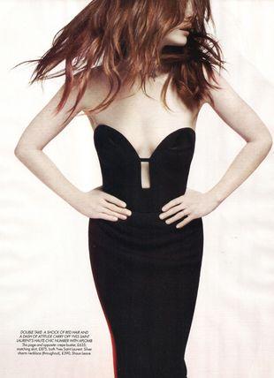 Julianne Moore w Harper's Bazaar