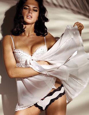 Adriana Lima w nowej sesji dla Victoria's Secret (FOTO)
