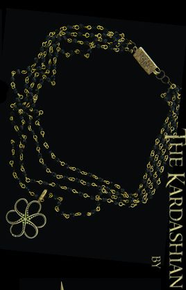Biżuteria projektu sióstr Kardashian