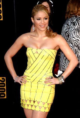 Żółciutka Shakira