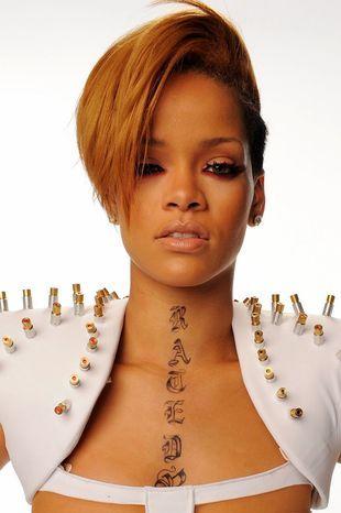 Rihanna w bandażach i małych laserach