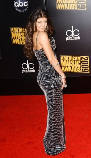 Fergie w sukience Haute Couture