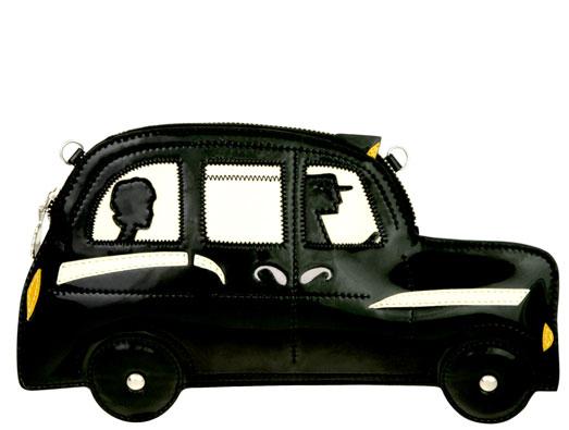Kopertówka w kształcie taksówki