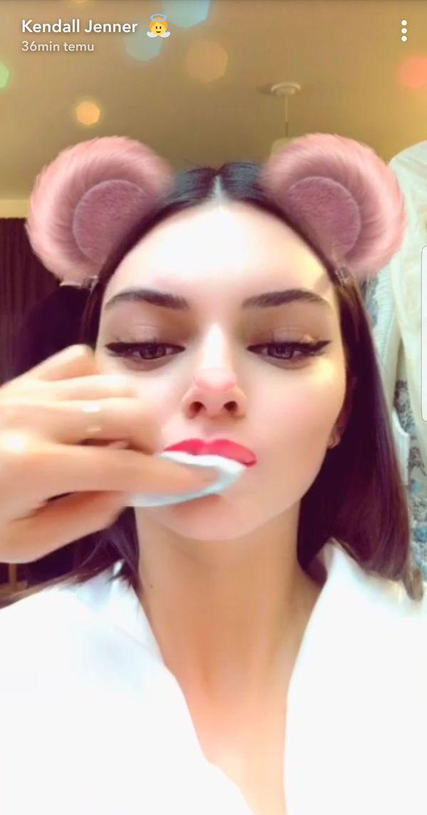 Kendall Jenner pokazuje, ile mogą zmienić filtry ze Snapchata (FOTO)