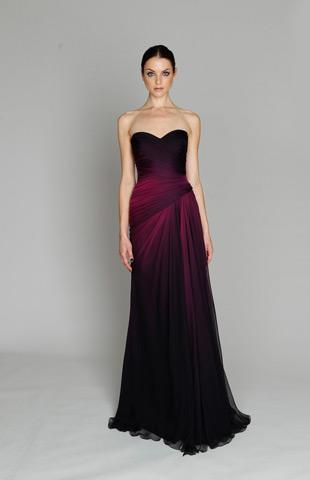 Monique Lhuillier - kolekcja Pre-Fall 2011