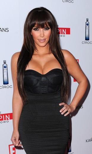 Kim Kardashian z grzywką czy bez?