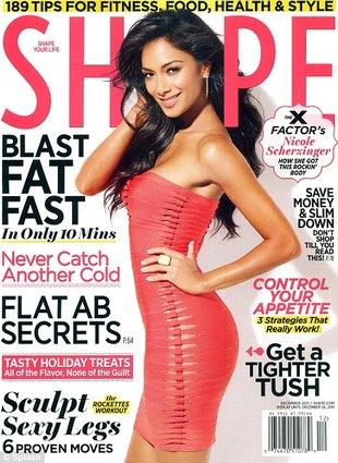 Nicole Scherzinger w magazynie Shape