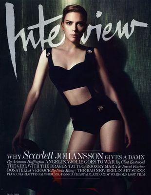 Scarlett Johansson w Dolce&Gabbana