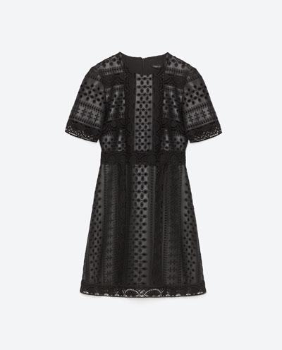 Mała czarna sukienka - Zara