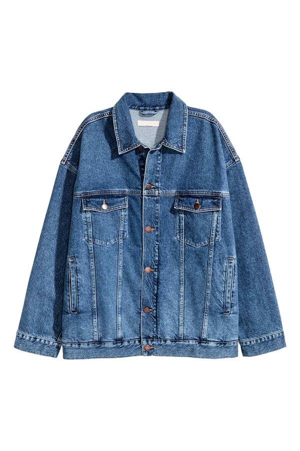 Oversize'owa jeansowa kurtka - must have na wiosnę 2017!