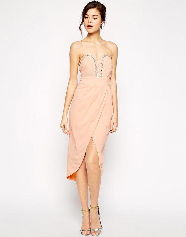 Studniówka - ostatni dzwonek! - przegląd sukienek midi Asos