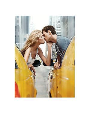 Anja Rubik z narzeczonym reklamuje nowy zapach DKNY