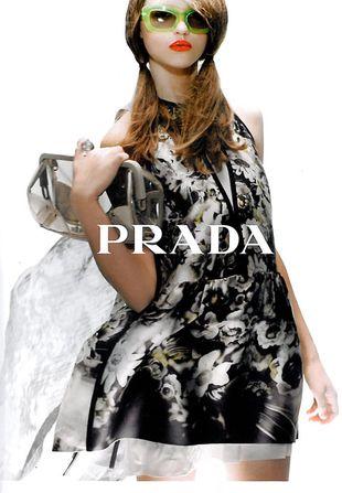 Wiosenna kampania Prady na 2010 rok