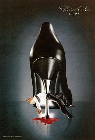Kobiety kochają zabójcze buty