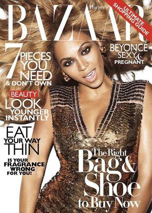 Beyonce na dwóch okładkach Harper's Bazaar