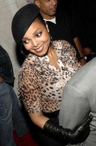 Janet Jackson: panterka i berecik