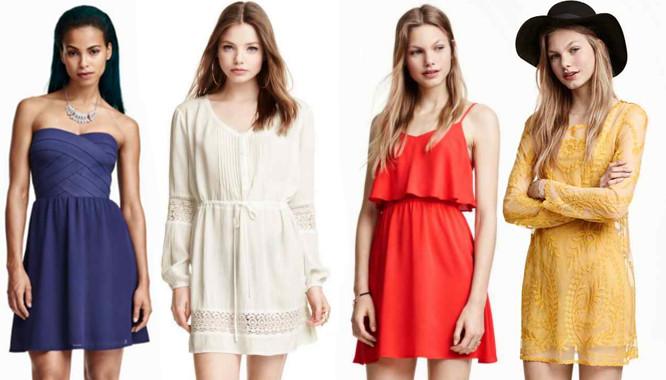 Modne sukienki na lato od H&M