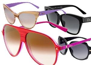 Dior - okulary wiosna 2011