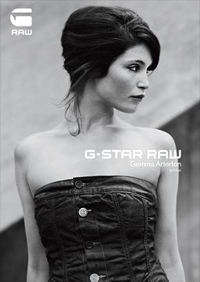 Gemma Arterton została twarzą marki G-Star