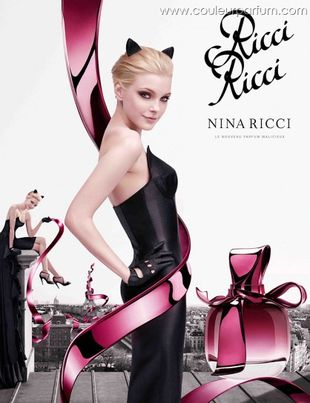 Jessica Stam w reklamie zapachu Ricci Ricci