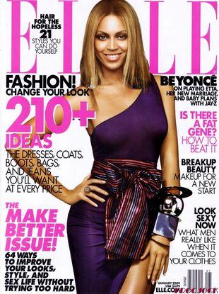 Beyonce dla Elle
