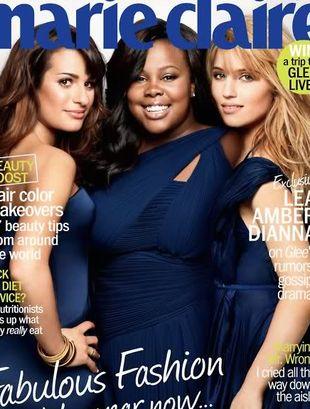 Gwiazdy Glee na okładkach magazynu Marie Claire
