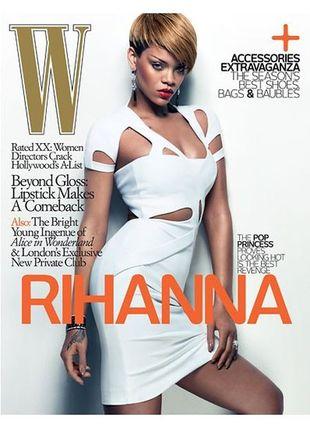Rihanna w W Magazine
