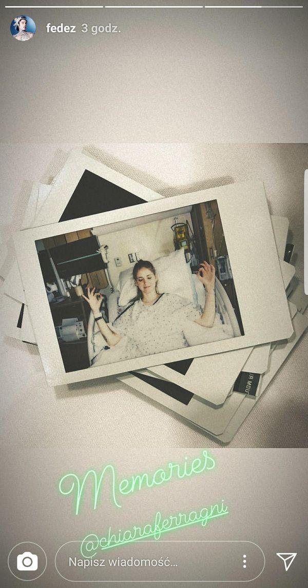 Chiara Ferragni dodaje zdjęcie z sali porodowej i bardzo emocjonalny wpis (FOTO)