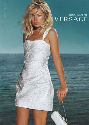 Gisele i Kate dla Versace