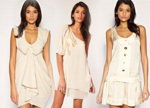 Asos - sukienki w odcieniu nude