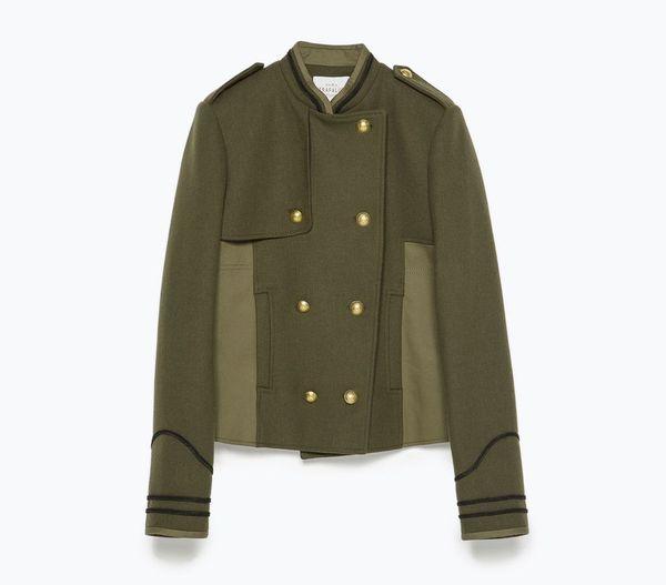 W militarnym stylu - przegląd oferty Zary (FOTO)