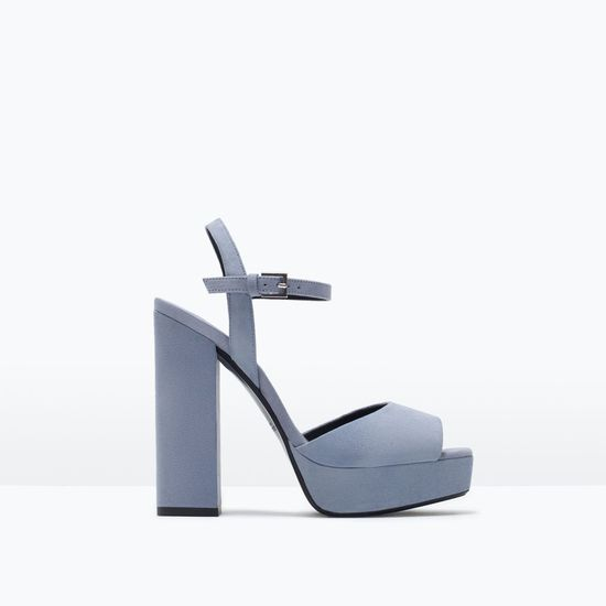 Zara Online - Blue Pastels, czyli nowy kolorowy trend