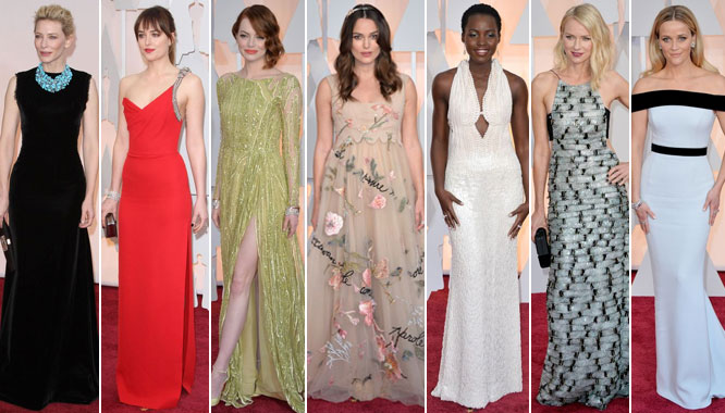 Oscary 2015 – najpiękniejsze kreacje wg magazynu Vogue