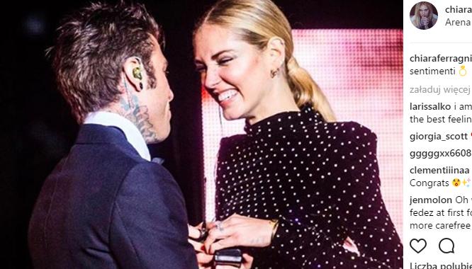 Chiara Ferragni wychodzi za mąż! MUSICIE zobaczyć, jak wyglądały zaręczyny i...