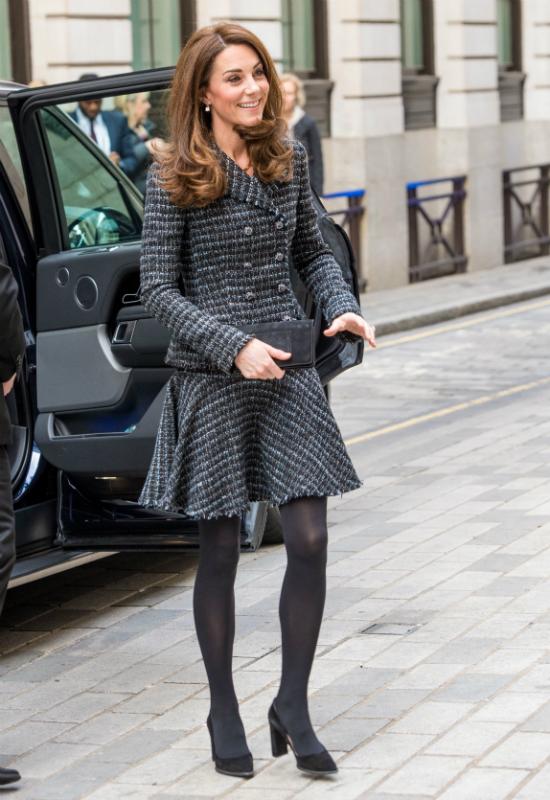 Tweedowa marynarka i spódnica księżnej Kate to nasze nowe marzenie modowe