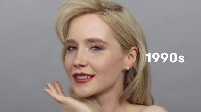 100 lat piękna w minutę, czyli jak zmieniały się Rosjanki