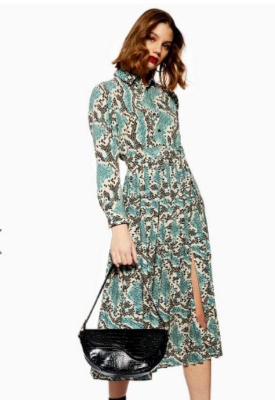 Mimo, że za oknem mróz, w sieci fashionistki wybierają topowe sukienki na wiosnę