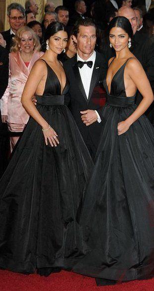 Camilla Alves na Oscarach 2011