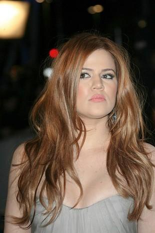 Khloe Kardashian nie może mieć rudych włosów